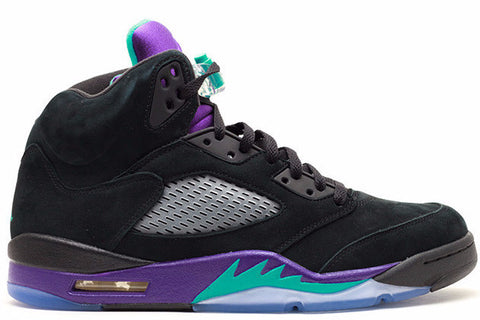 Jordan 5 Black Grape Retro - Sole Alley