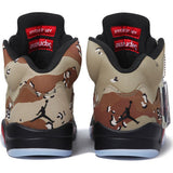 Jordan 5 Retro X Supreme Camo - Sole Alley