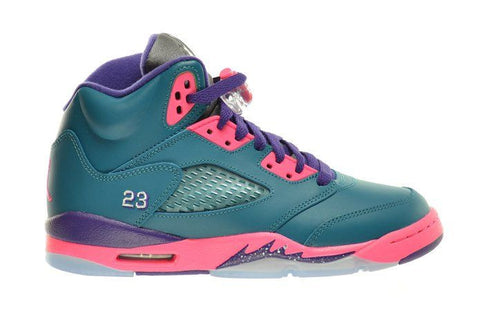 Jordan 5 Tropical Teal Retro (GS) - Sole Alley
