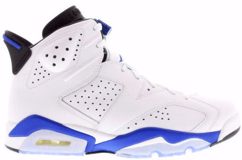 Jordan 6 Sport Blue White Retro - Sole Alley