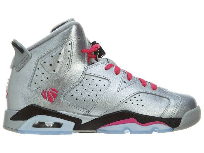 Jordan 6 Valentines Day Retro Metallic Silver (GS) - Sole Alley