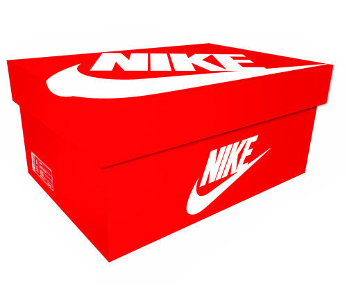 Nike Giant Shoe Box Drawer Orange Free Shipping - Sole Alley