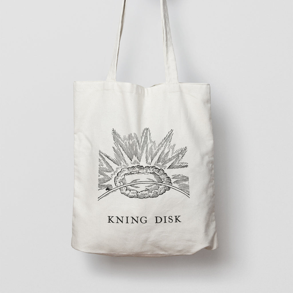 Tote Bag With Kning Disk Logo