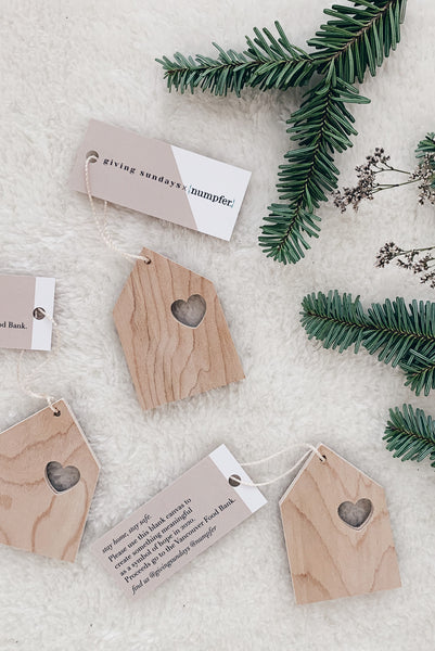 THREE Giving Sundays x numpfer Holiday Ornaments