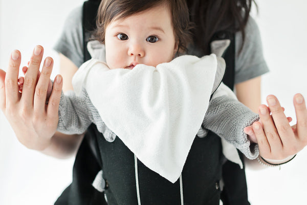 'the must have multi use' bib - white - Numpfer