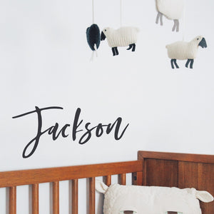 Custom Name Wall Decal