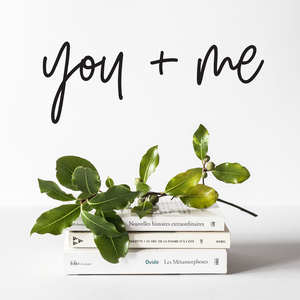 You + Me Wall Decal
