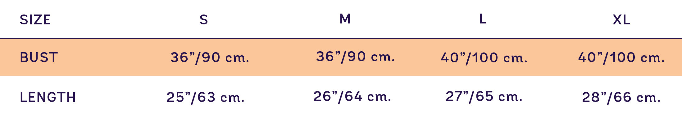 Size Chart For SUPERSWEET x moumi  Adam Nerdy Tee