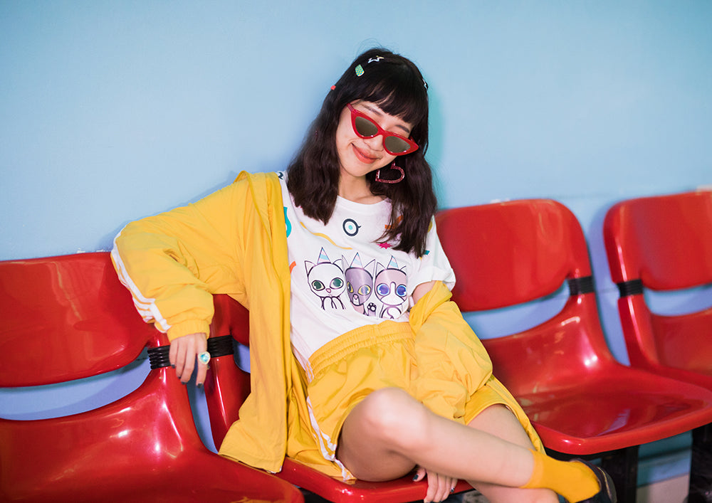 supersweet, super sweet, moumi, team moumi, meow, fashion, style, editorial, colorful, colourful, manee, maneemejai, van, malinee, collaboration, shopping, photography, fashion, party cats