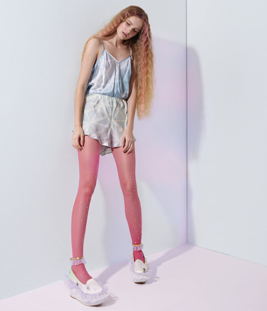 Crystal Tights (Pink)