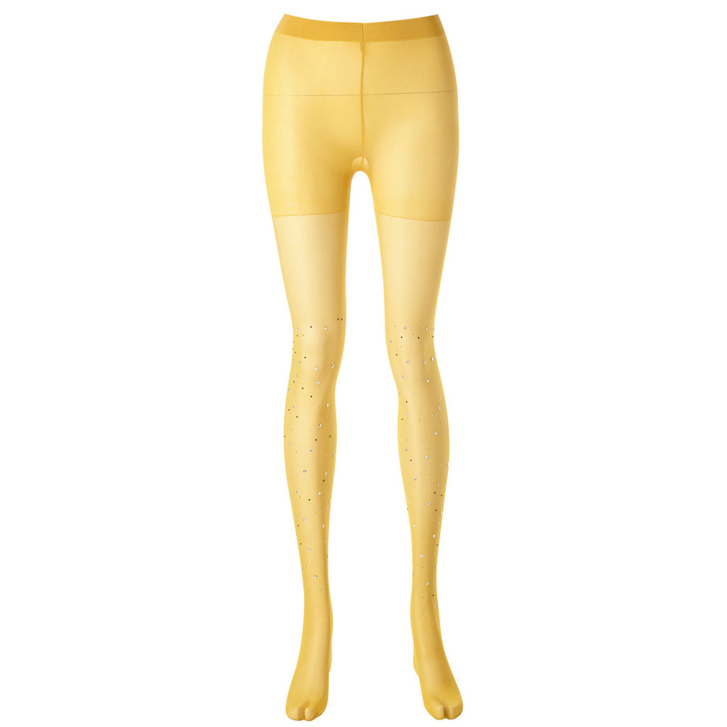 Crystal Tights (Mustard)