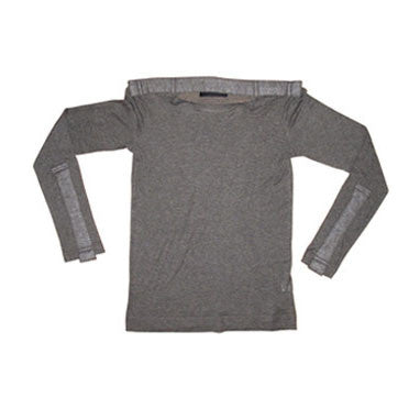 shirt, top, military, detail, knitwear, conceptual, grey, dark, slinky, winter, atelier 1, russian, long sleeve