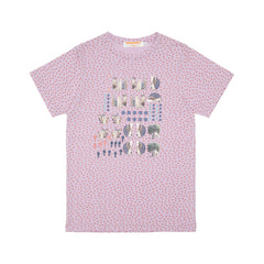 supersweet, super sweet, moumi, ss17, classic, tee, tshirt, t shirt, purple, lavender, lilac, mauve, jersey, heat transfer, decals, stickers, elements, miniature horse, cat, cats, cat print, trees, collage, scrapbook, pink dots