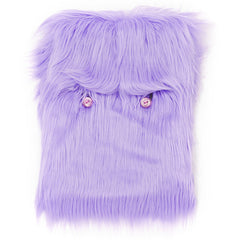 supersweet, moumi, super sweet, fur, pink, faux fur, monster, bag, case, laptop, notebook, computer, accessories, meow, furry, friendly, friend, pet, fun, hairy, cotton candy, purple, amethyst