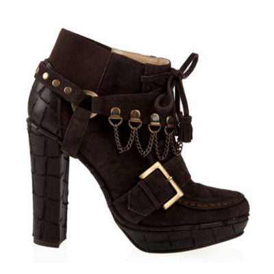 Cristina Brown Ankle Boots