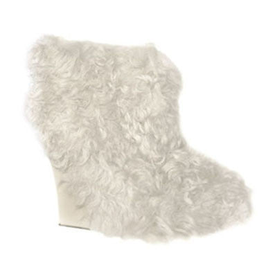 Long Fur Amber Booties