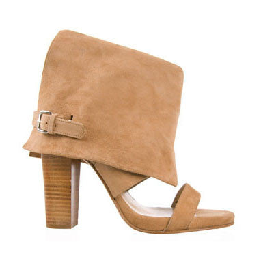Sand Cuffed Suede Boots