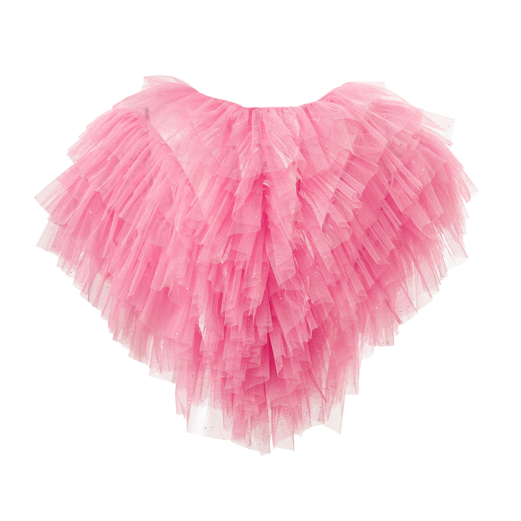 super sweet, supersweet, tulle, glitter, sparkly, sparkle, bolero, moumi, frills, ruffles, baby, pink, sexy, shocking, pastel, barbie