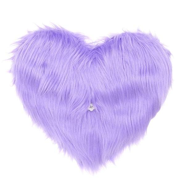 Fred Furry Heart Clutch