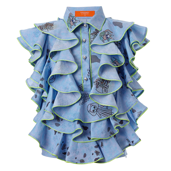 Manooshby Shirt (Under the Sea)