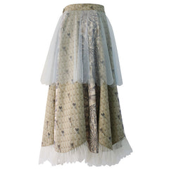 Veiled Petal Skirt