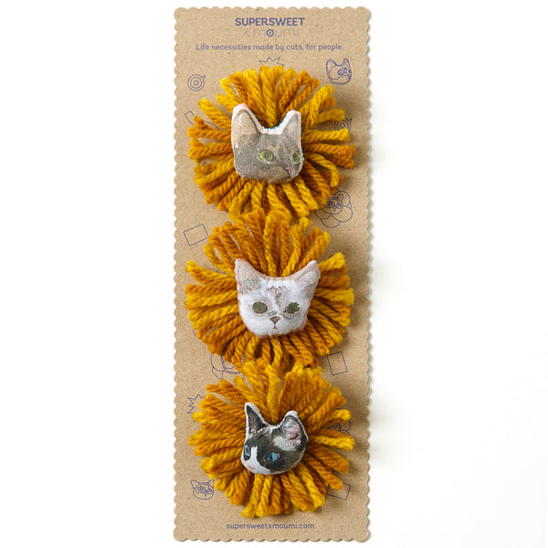 Surfing Safari Brooch Set