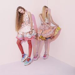 supersweet, moumi, super sweet, pastel, pastels, pantone, pink, peach, fashion, style, ss16, wish you were here, sale, sample sale, halter, neck, backless, top, norgaard, models, look book