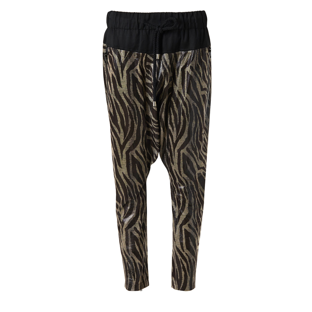 rebekkah raa, zebra, animal print, steve j, yoni p, trousers, harem, street, ghetto, stevej, yonip, pants, korean, fashion, designer, harems, fringes, drawstring, cool, cred,