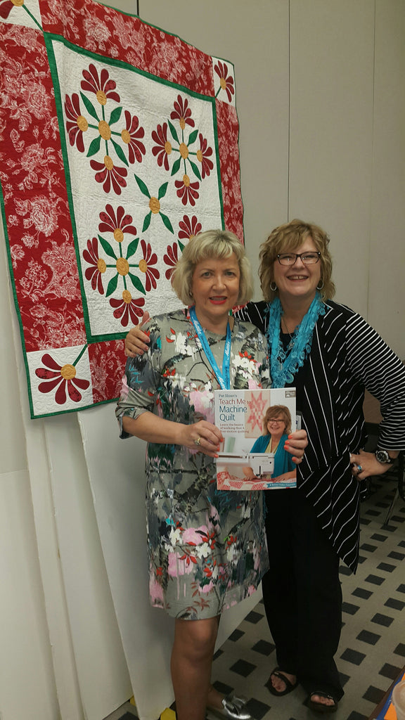 Maree is just back from her trip to Houston, Texas for Quilting!