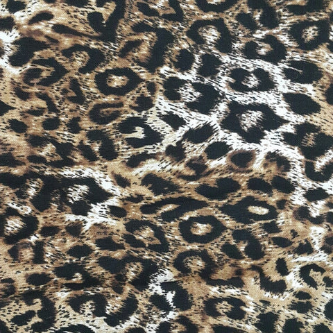 Tiffanies Cheetah Print Cotton (1 meter)