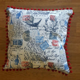French Postage Cushion
