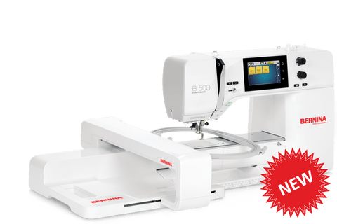 Bernina 500 + Free Accessory Case Value $157 (19 April - 23 May 2021 or While stocks last)