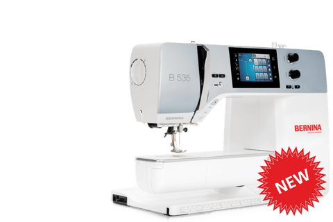 Bernina 535 + Free Accessory Case Value $157 (19 April - 23 May 2021 or While stocks last)