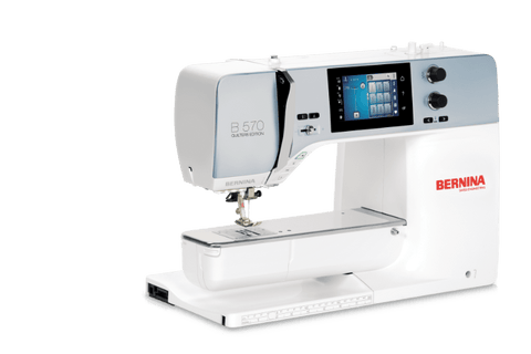 BERNINA 570 QE Made especially for quilters