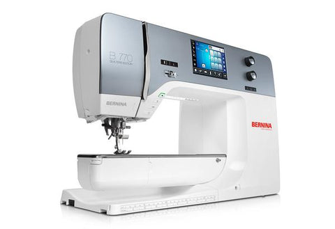 Bernina 770QE Quilting sewing and embroidery machine