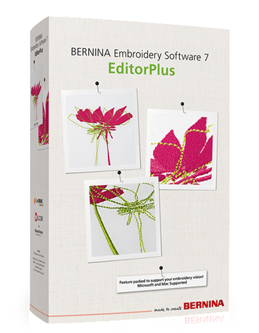 Bernina Editor Plus Version 8
