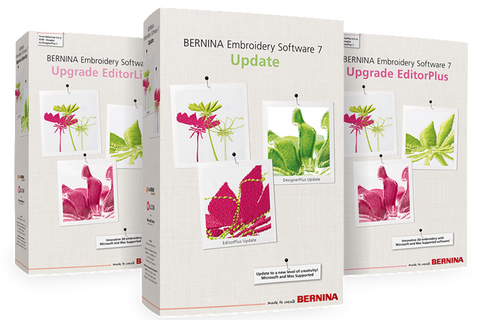 Bernina Embroidery Software 8 – Upgrade to Designer Plus V78