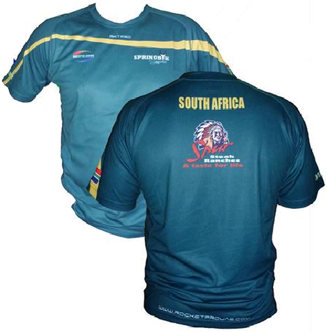 South African Men's Supporters Rugby Shirt