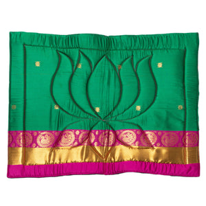 Lotus Sari Meditation Mat