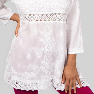 Lucknow Crochet- Band Top