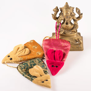 Mousey Purse - Gift Pouch Ornament