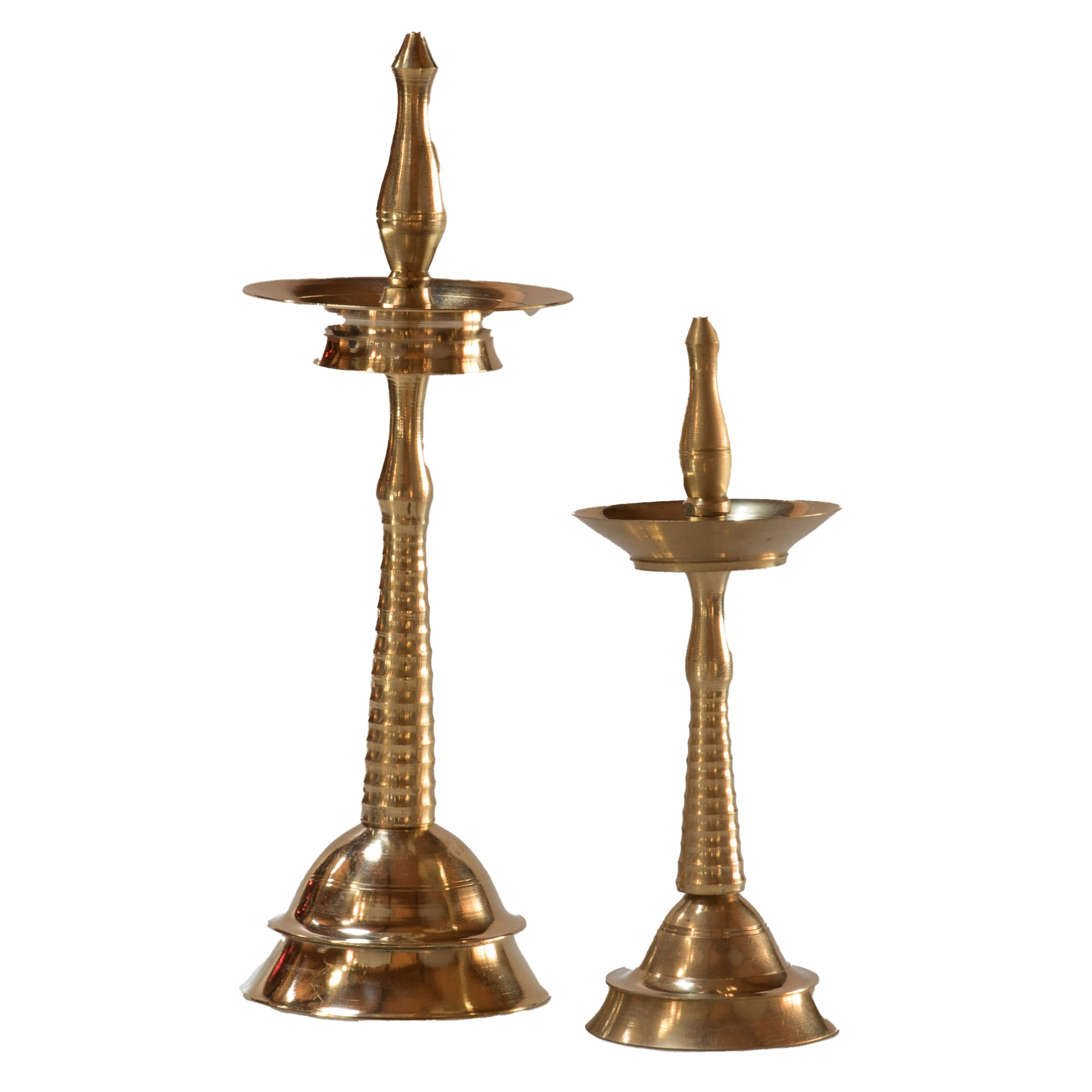 Brass Puja Oil Lamp