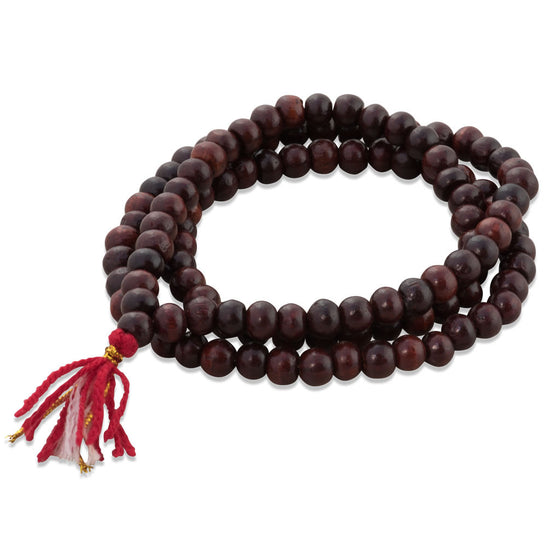 Red Sandalwood Neck Mala