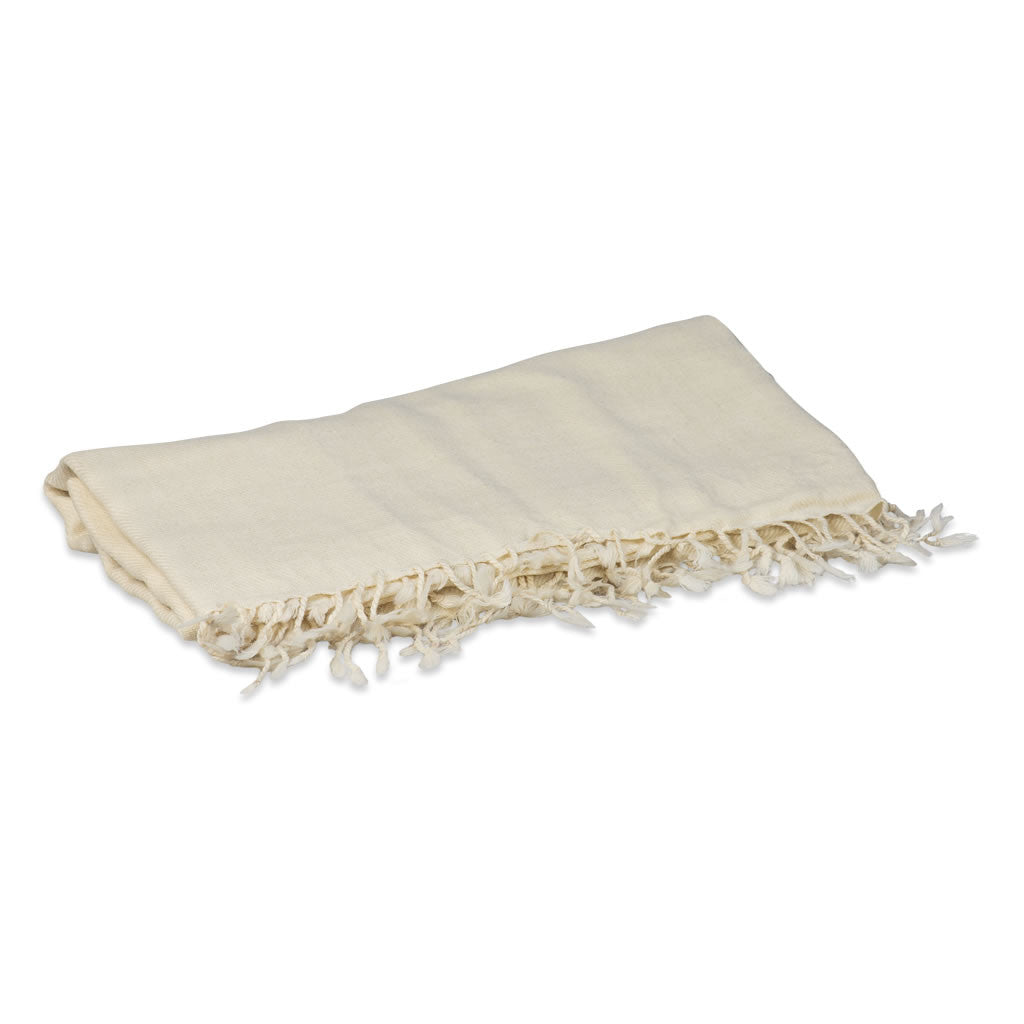 White Prayer Shawl (wool)