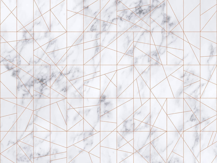 Marble Veins Rosegold