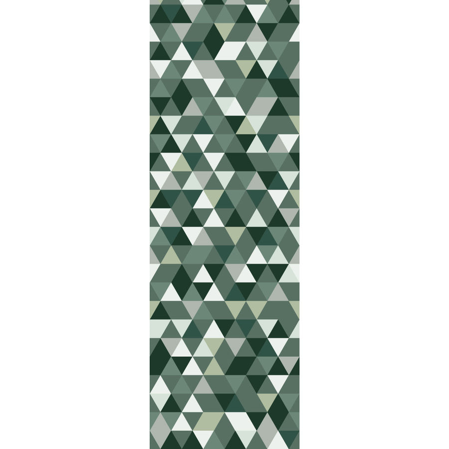 Triangles Coctail bottle green