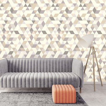 Triangles Coctail beige