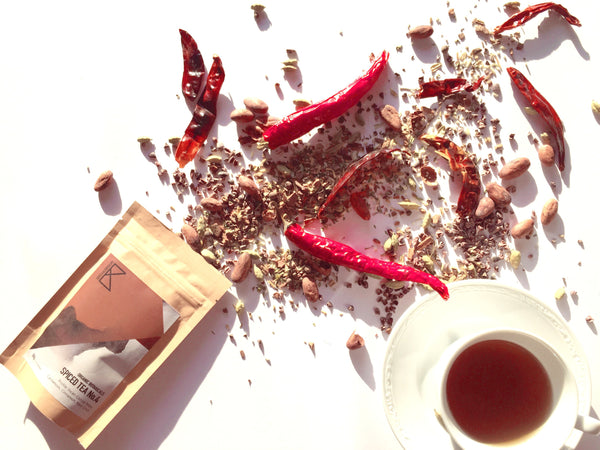Spiced Tea No.4 - Incan Chocolate 50g [Cacao Nibs , Sweet Spices & Chilli] - Taste Kaleidoscope
