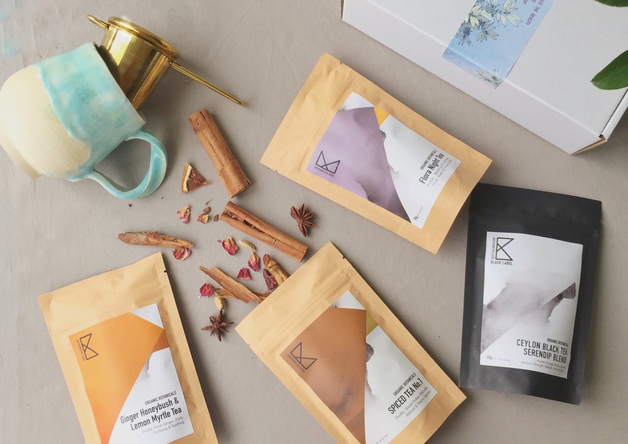 Best Seller Gift Set [4 Most Popular Teas in 2020 + Infuser + Recipe e-Book]