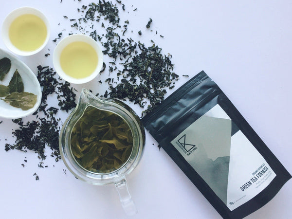 [Black label] Organic Green Tea notpolitiko 30g - Taste Kaleidoscope